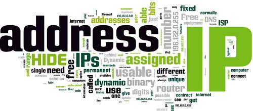 ip adress en gerelateerde woorden